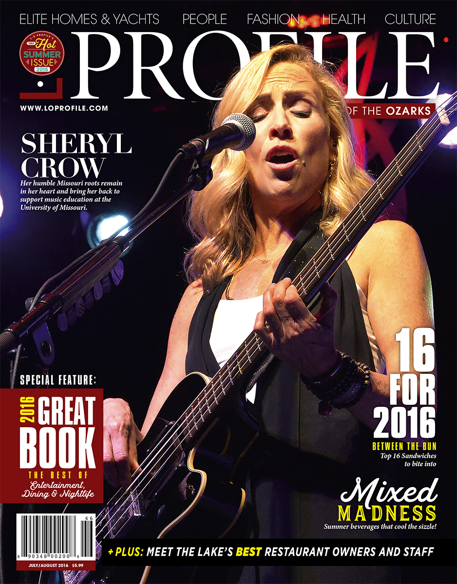 July | August 2016 - Sheryl Crow