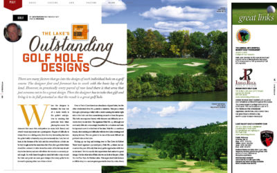 The Lake of the Ozarks' Outstanding Golf Hole Designs
