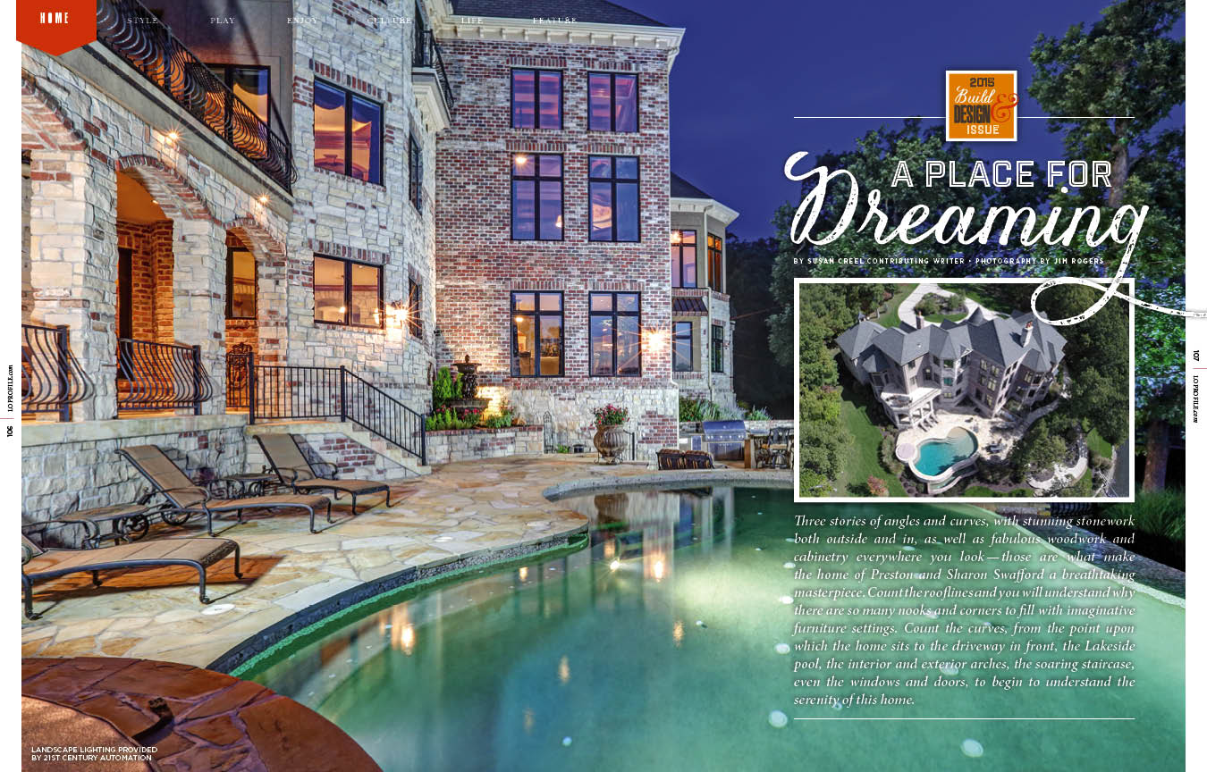 A Place For Dreaming — Lake of the Ozarks Homes