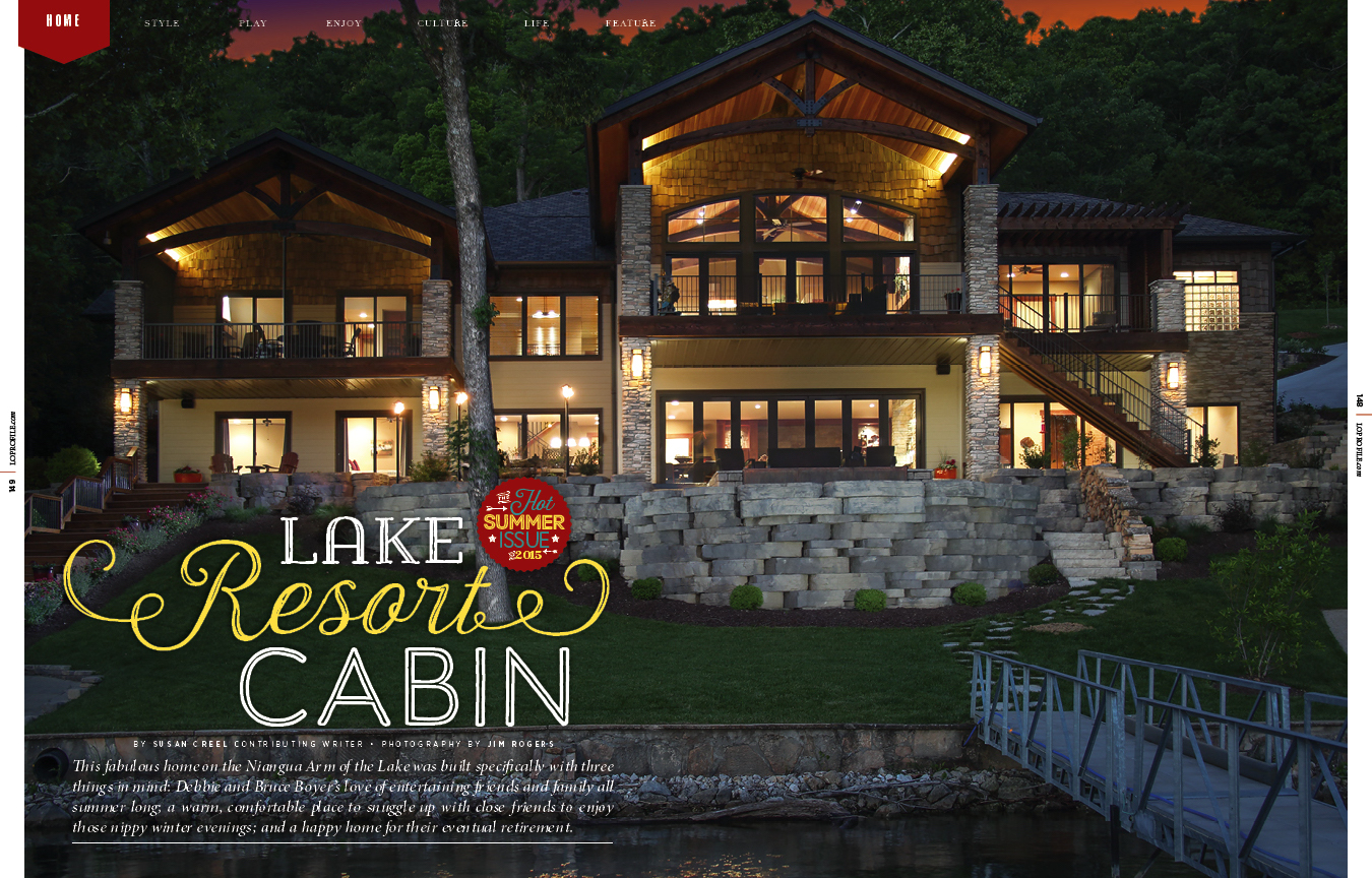 Lake Resort Cabin