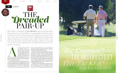 """Golf – The Dreaded """"Pair UP"""""""