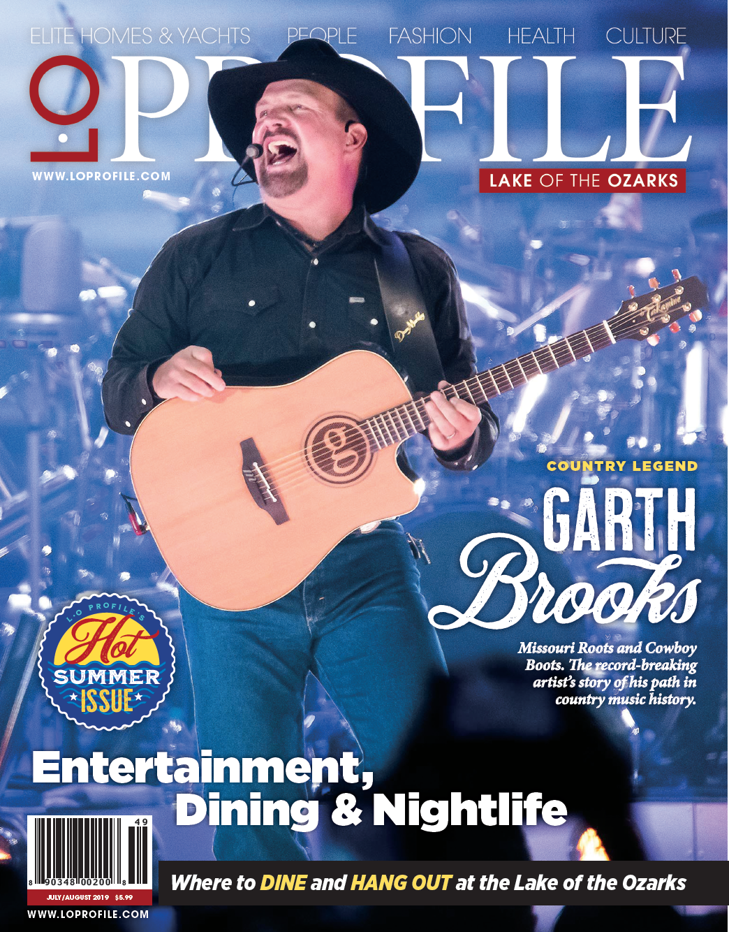 July | August Garth Brooks
