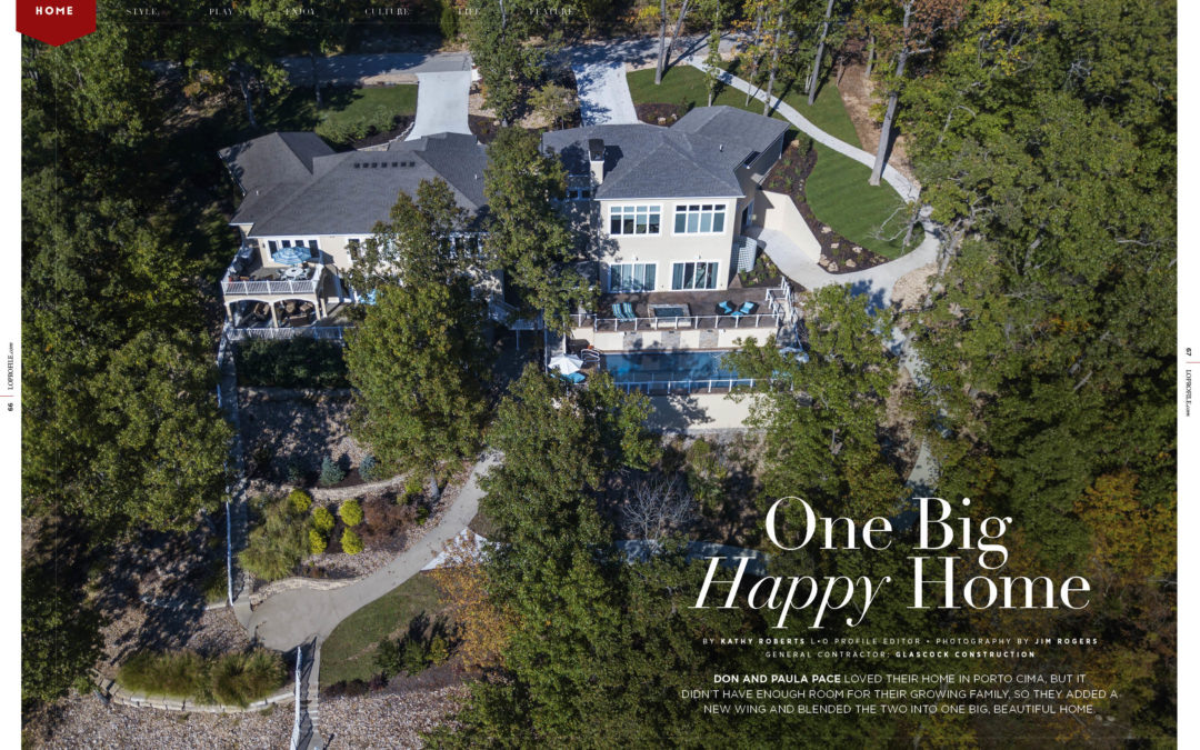 Home Feature: One Big Happy Home
