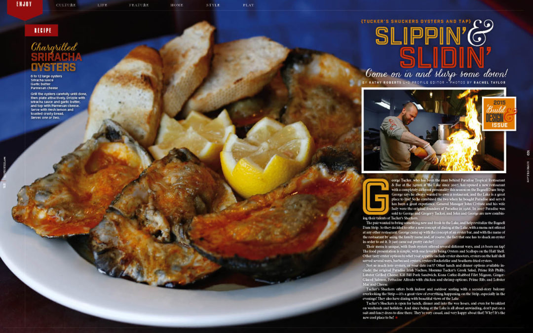 Slippin' & Slidin — Tucker's Shuckers Oysters and Tap
