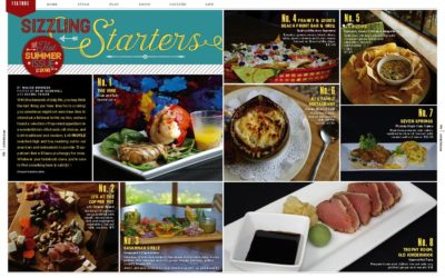 Sizzling Starters