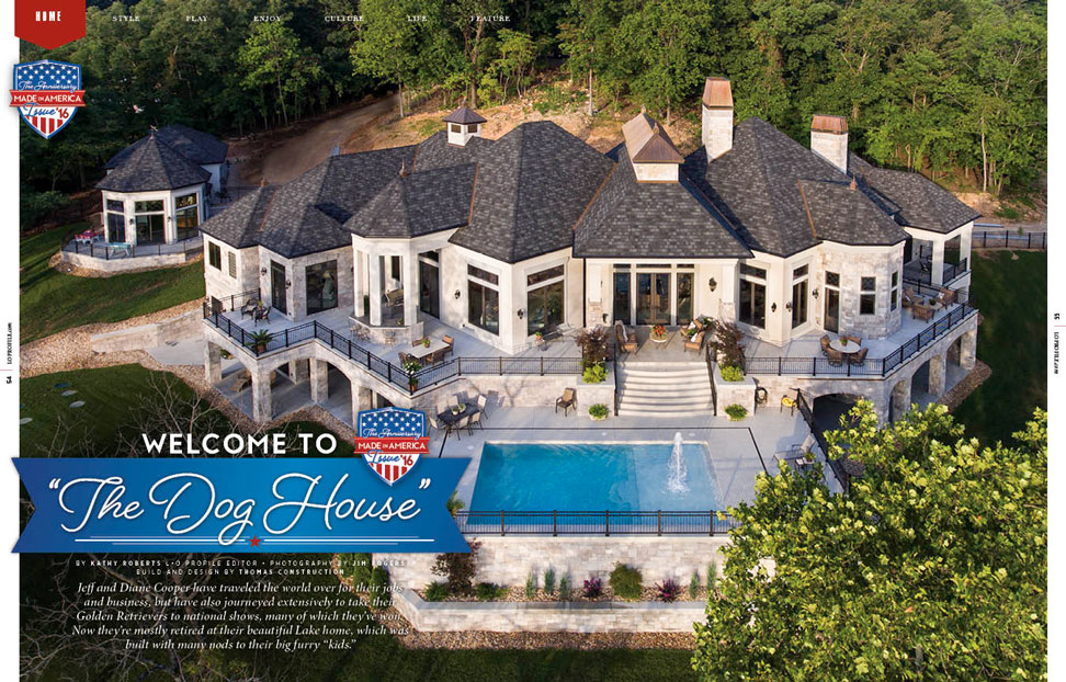 Home Feature: Welcome to the Dog House