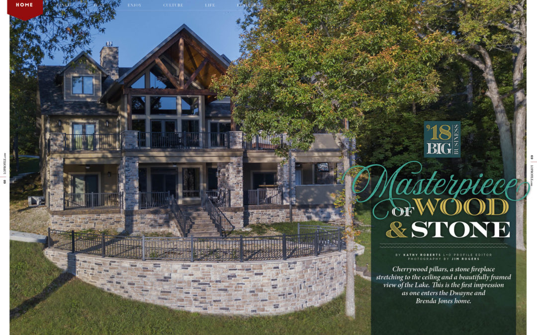 Home Feature: Masterpiece of Wood and Stone