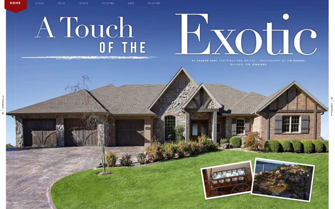 Home: A Touch of Exotic