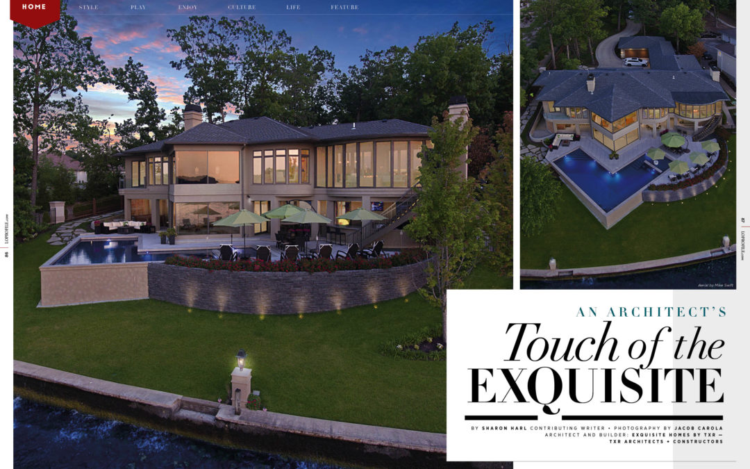 Home Feature: A Touch of Exquisite