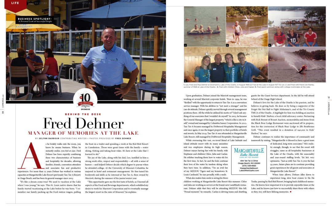 Business Spotlight: Fred Dehner