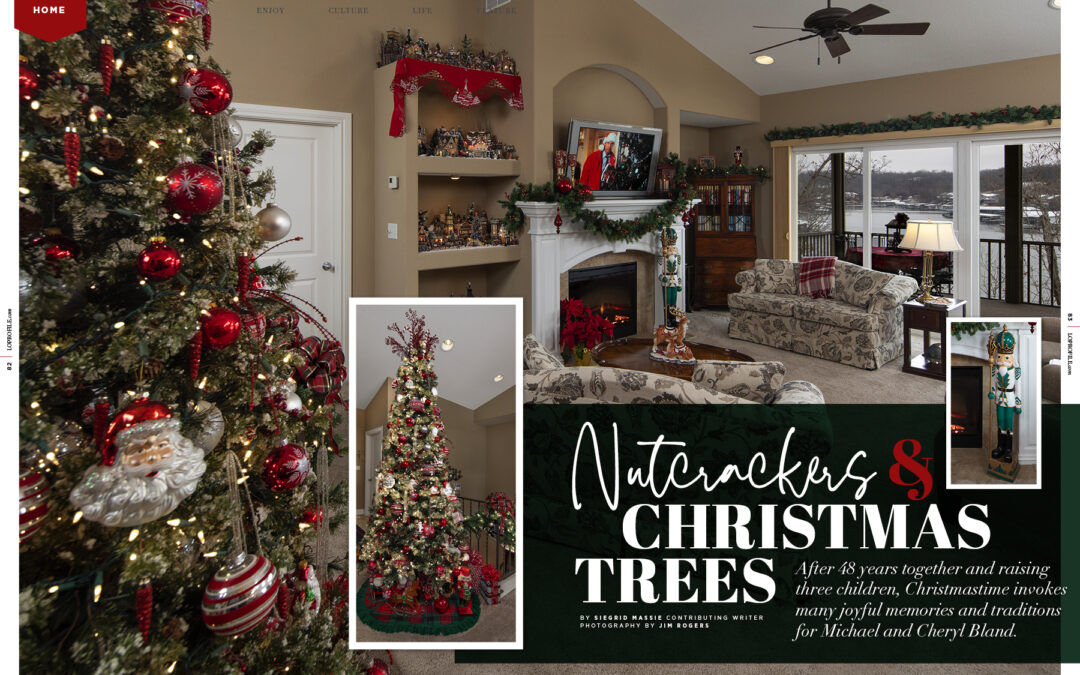 Home: Nutcrackers and Christmas Trees