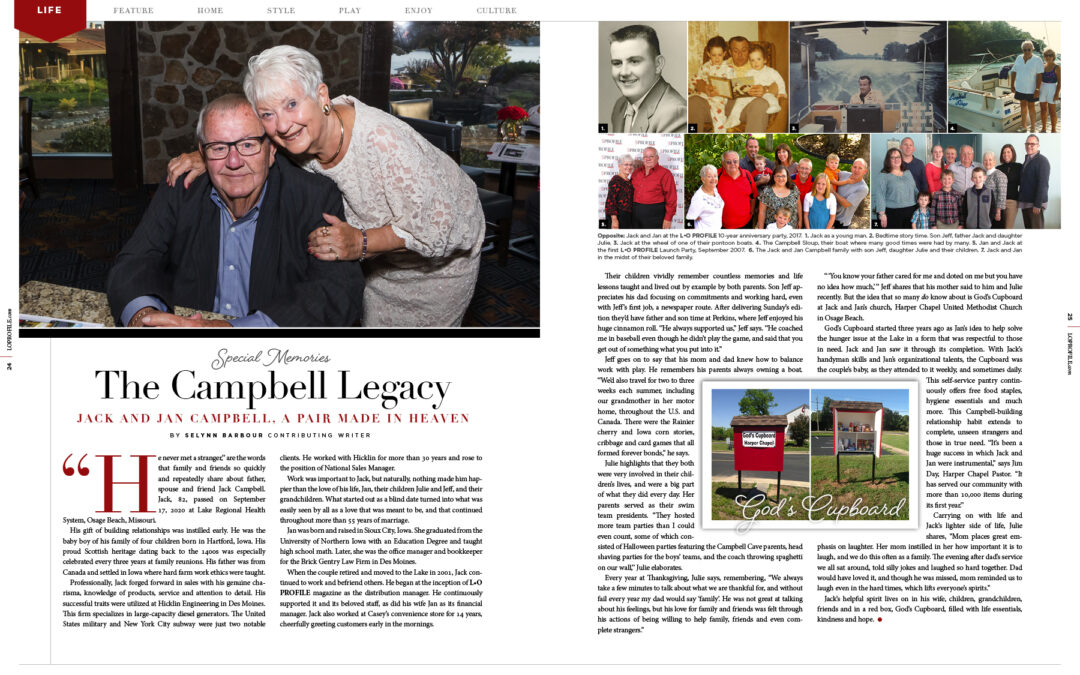 Legacy: Jack Campbell